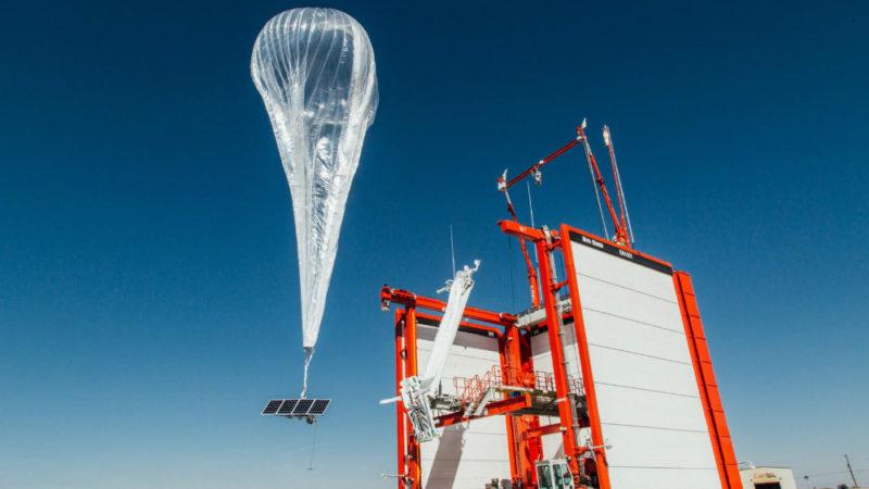 غولهای مخابرات، هوانوردی و فناوری به پروژه بالونهای اینترنتی آلفابت پیوستند
