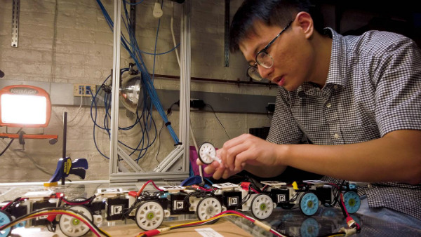 ساخت ربات مار شکل توسط مهندسان دانشگاه جانز هاپیکنز