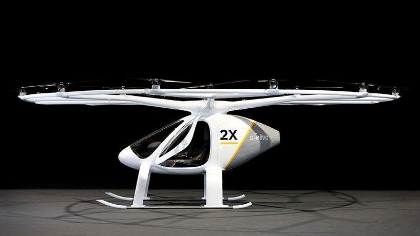 هواپیمای الکتریکی ولوکوپتر X2