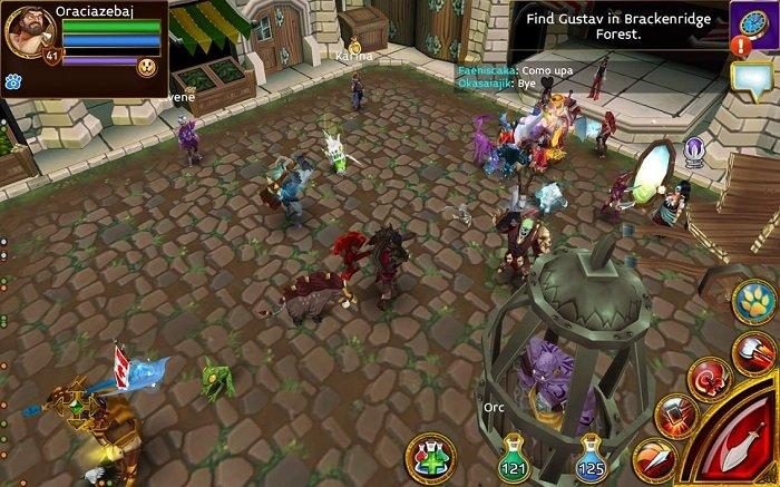 بازی های MMORPG موبایل