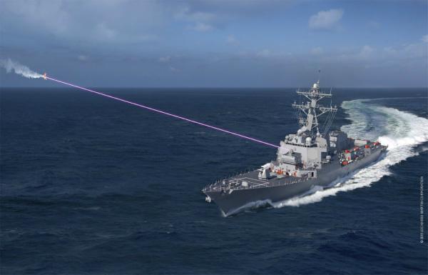 نصب سلاح لیزری جدید روی ناوهای ارتش آمریکا