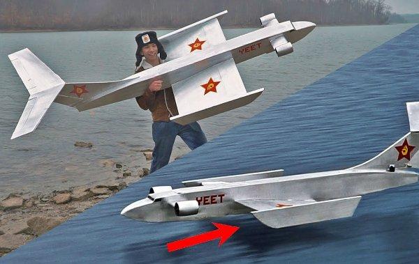 بازسازی هواپیمای محرمانه شوروی توسط یک یوتیوبر [تماشا کنید]