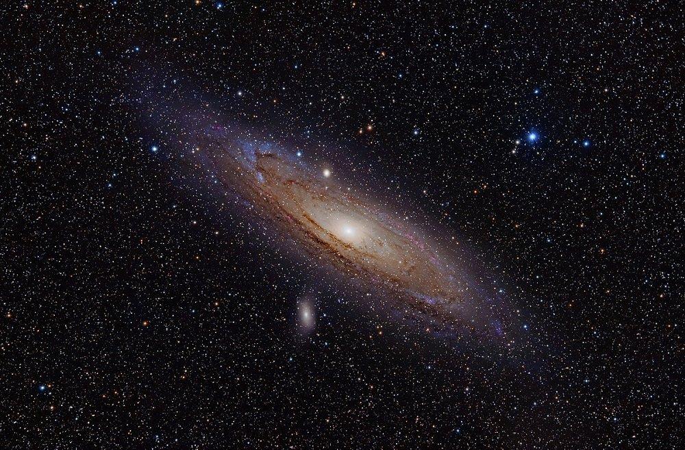 قطر کهکشان راه شیری