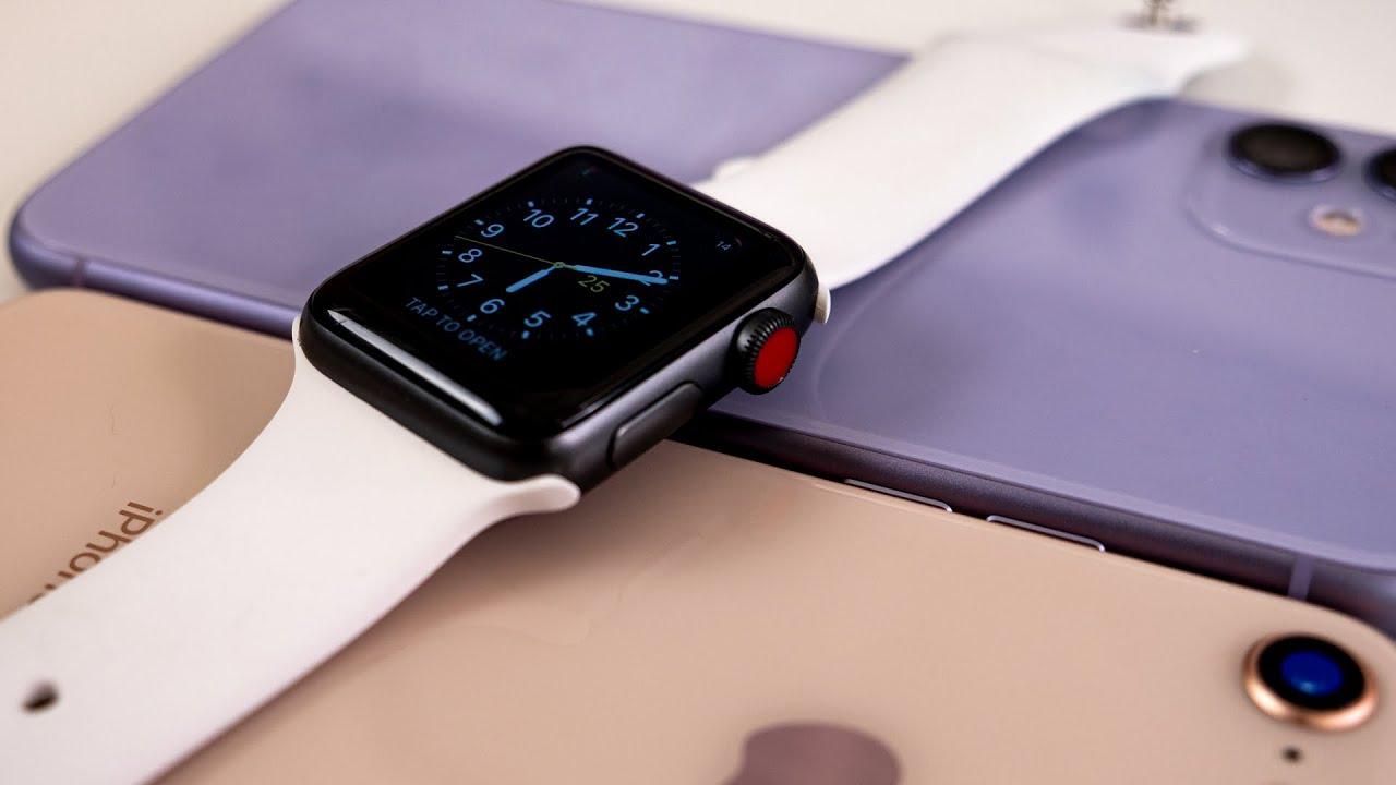 ساعت هوشمند اپل واچ سری 3