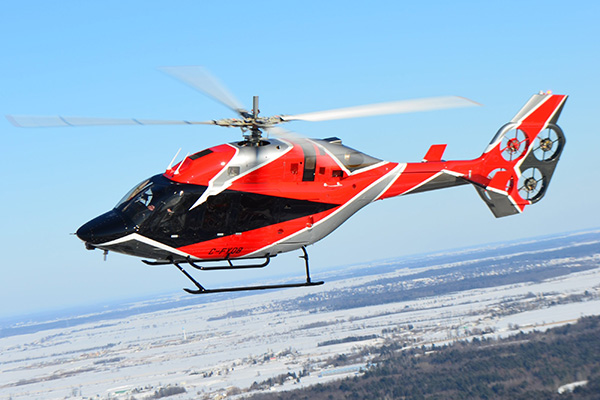 تجهیز هلیکوپتر «بل» به چهار فن برقی به جای روتور عقب [تماشا کنید]