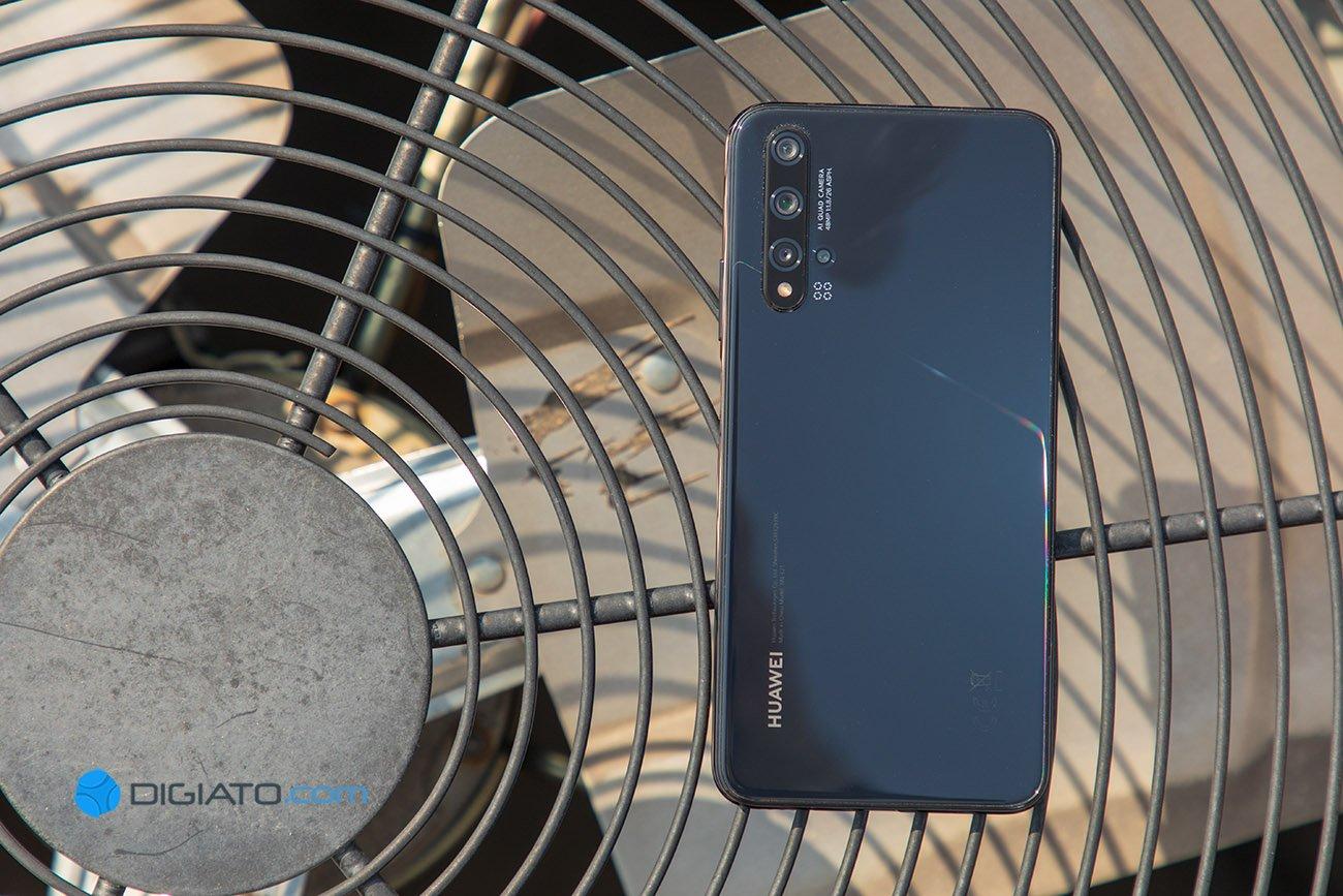 Digipic HuaweiNova5T 02 بررسی دیجیاتو: گوشی پرچمدار هواوی نووا 5T [تماشا کنید] اخبار IT