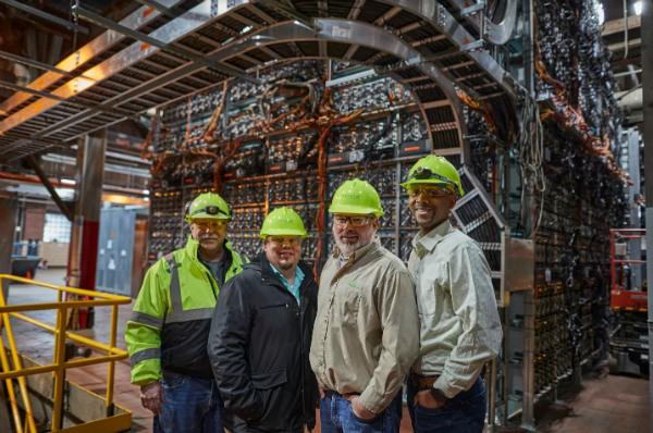 درآمد روزانه ۵۰ هزار دلاری یک نیروگاه برق در آمریکا از استخراج بیت کوین