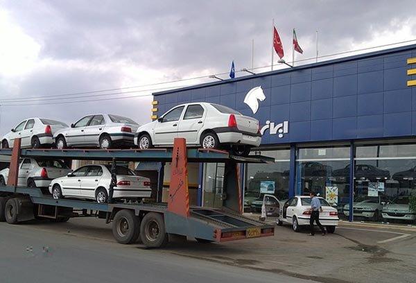 تحویل خودرو