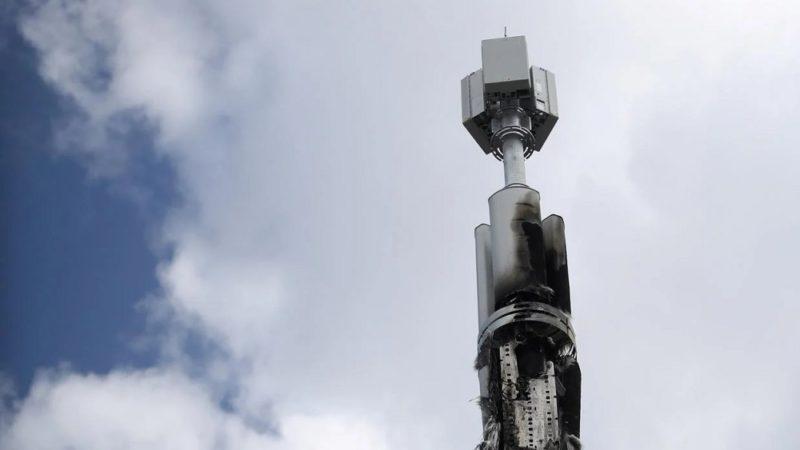 دکلهای موبایل در هلند به آتش کشیده شدند؛ گسترش ترس از شبکه 5G