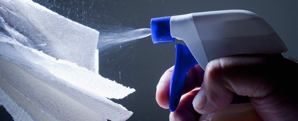 ضدعفونی کردن سطوح آلوده به ویروس کرونا در دو مرحله