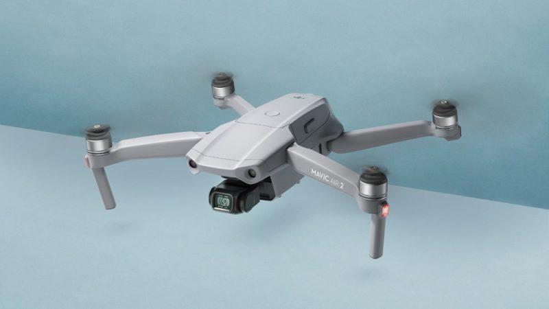 DJI از پهپاد Mavic Air 2 با کنترلر جدید و سنسور دوربین بزرگتر رونمایی کرد