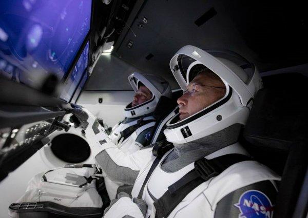 763 پرتاب موفق فضانوردان ناسا با کپسول سرنشین دار کرو دراگون [تماشا کنید] اخبار IT