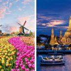 روزیاتو: ۱۱ کشوری که نمی دانستید نام خود را تغییر دادند؛ از هلند تا تایلند