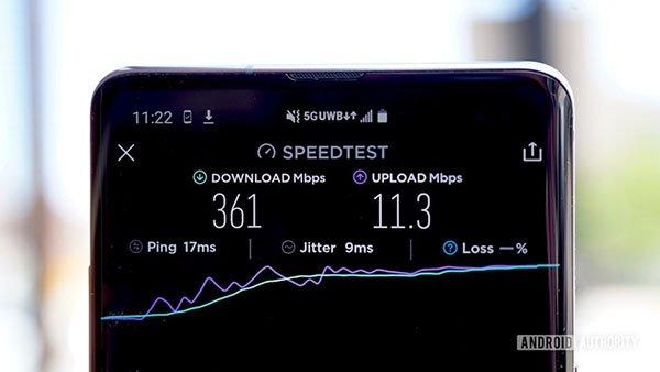 Samsung Galaxy S10 5G Verizon Wireless 361Mbps 1340x754 چرا عمر باتری موبایل شما هیچ ارتباطی به ظرفیت باتری آن ندارد؟ اخبار IT