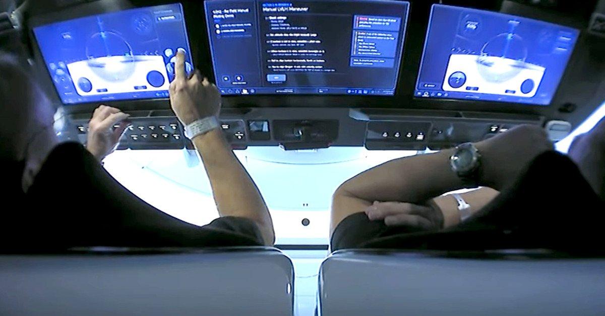 Screen Shot 2020 05 30 at 4.29.28 PM فرود موفق راکت فالکون ۹ پس از پرتاب تاریخی کرو دراگون [تماشا کنید] اخبار IT