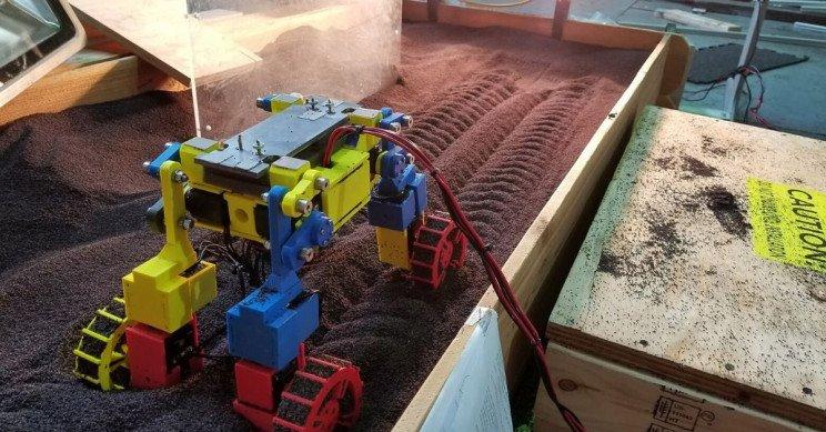 کاوشگر Mini Rover با توانایی حرکتی بالا