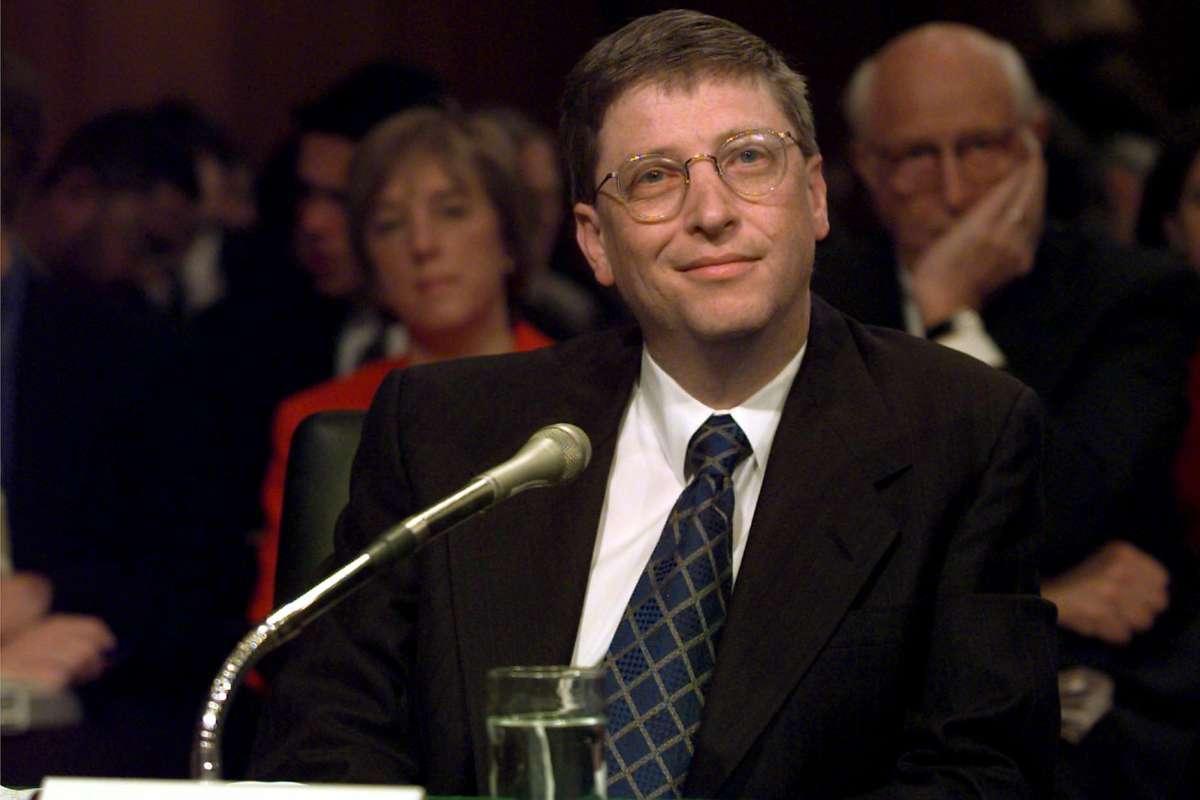bill gates 1998 antitrust 2 فراموش نکنیم: بیل گیتس همیشه این پیرمرد دوست داشتنی و نیکوکار نبود اخبار IT