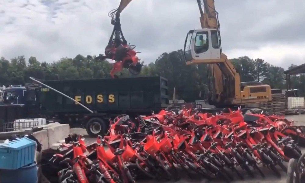 jump uber Scrap نابودی هزاران دوچرخه الکتریکی سالم توسط اوبر خشم کاربران را برانگیخت اخبار IT
