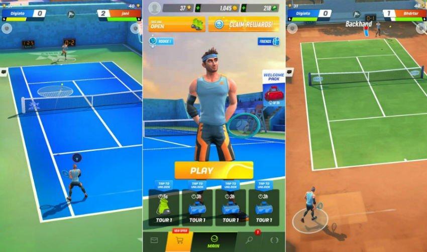 بازی تنیس اندروید