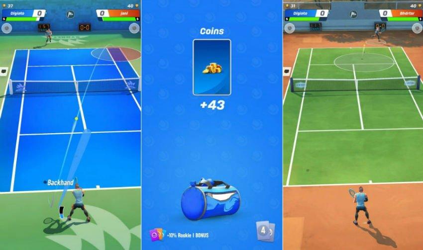 بهترین تنیس اندروید