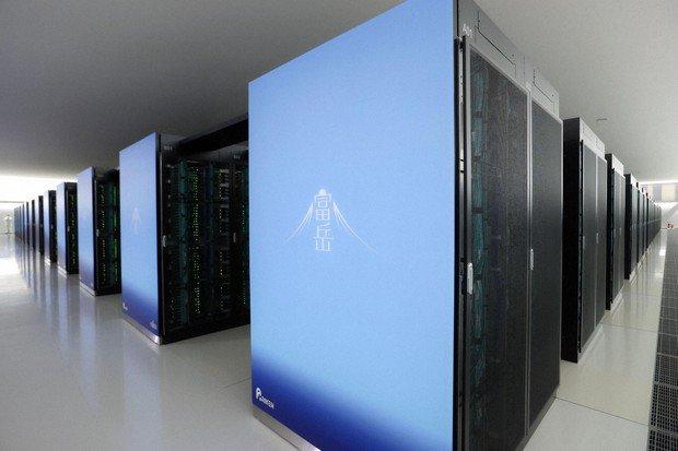 ابرکامپیوتر Fugaku