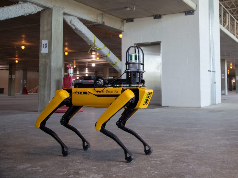 سگ رباتیک اسپات