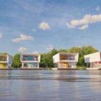 ساخت خانه شناور با قابلیت تولید برق از نور خورشید و آب باران