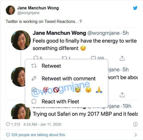 توییتر واکنش به پست ها با ایموجی را آزمایش می کند