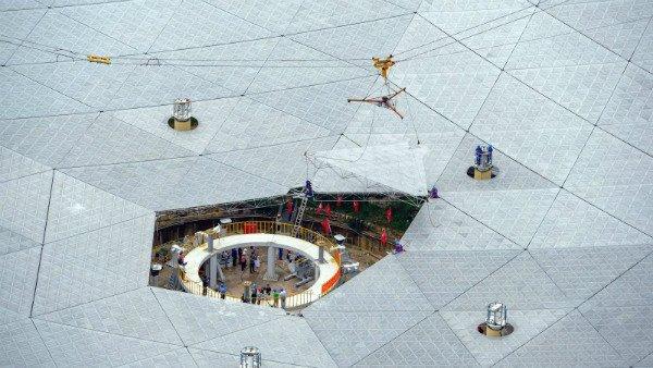 چین با تلسکوپ FAST جستجو برای حیات فرازمینی را آغاز می کند