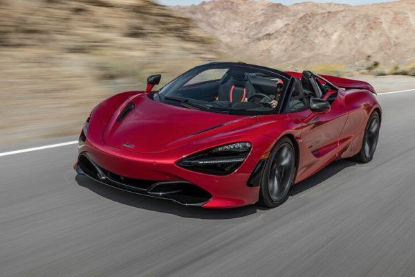 2020 McLaren 720S Spider 24 600x400 رقابت داغ پورشه 911 توربو S، مک لارن 720S و مرسدس AMG GT R در بازار سرد صنعت خودروسازی جهان اخبار IT