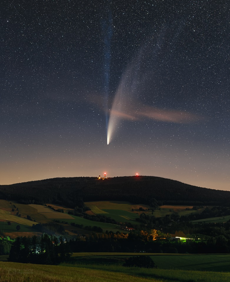 2020 07 14 NEOWISE Suchy Vrch 1263px تصاویر خیره کننده از رصد دنبالهدار نئووایز اخبار IT