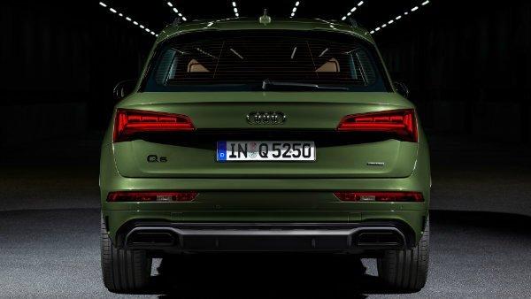 2021 Audi Q5 OLED Taillights 8 انتقال پیام از طریق چراغهای OLED؛ ایده نوین آئودی برای افزایش ایمنی [تماشا کنید] اخبار IT