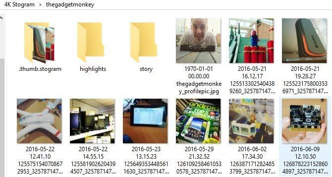نرم افزار 4K Stogram