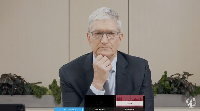 Apple CEO Tim Cook to Congress The App Store is in a street fight for market share 1 سهم ۳۰ درصدی اپل از مبادلات اپ استور چطور تبدیل به یک سردرد واقعی شد؟ اخبار IT