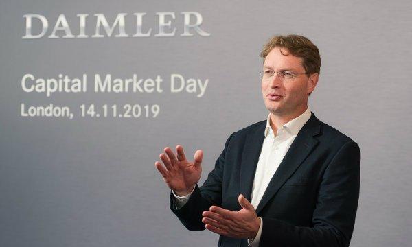 کاهش حقوق ردهبالای مدیران کمپانی دایملر