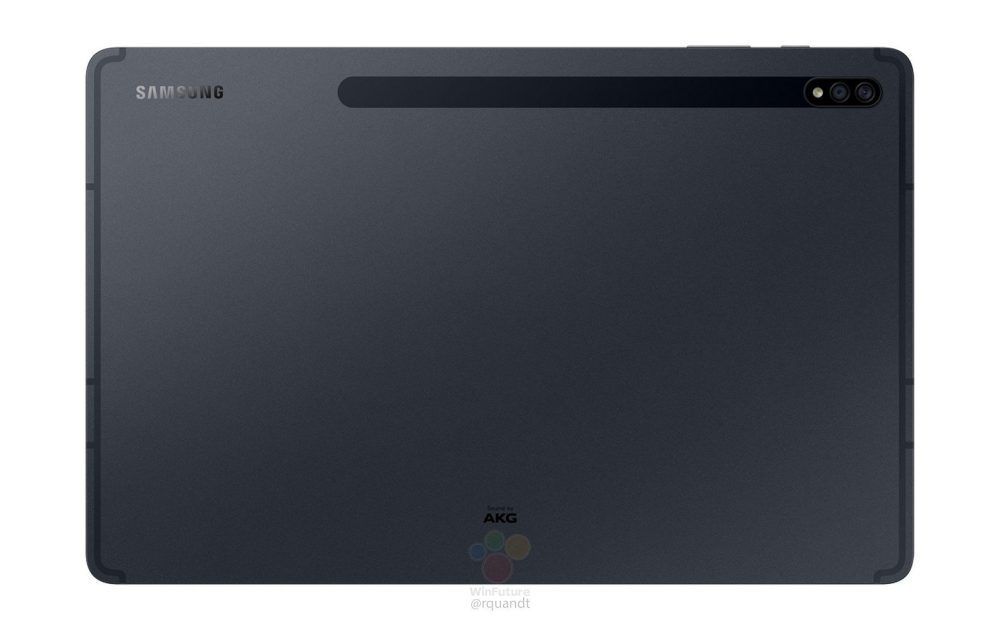 Galaxy Tab S7 specs leak w AMOLED and LCD displays S Pen matches Apple Pencil latency 1 افشای تصاویر و مشخصات سری گلکسی تب S7؛ اسنپدراگون +۸۶۵ و رم ۶ گیگابایت اخبار IT