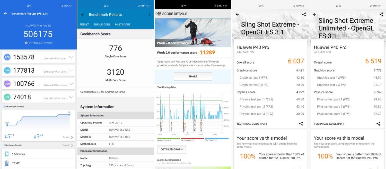 HuaweiP40Pro Benchmark02 بررسی گوشی پرچمدار هواوی P40 پرو؛ شاید وقتی دیگر اخبار IT