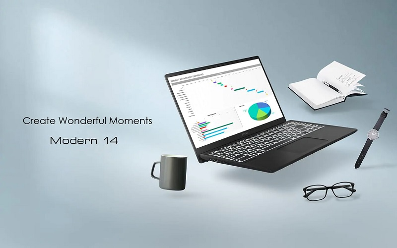 MSI Modern 14 1 MSI از لپ تاپ Modern 14 با جدیدترین پردازندههای اینتل و AMD رونمایی کرد اخبار IT