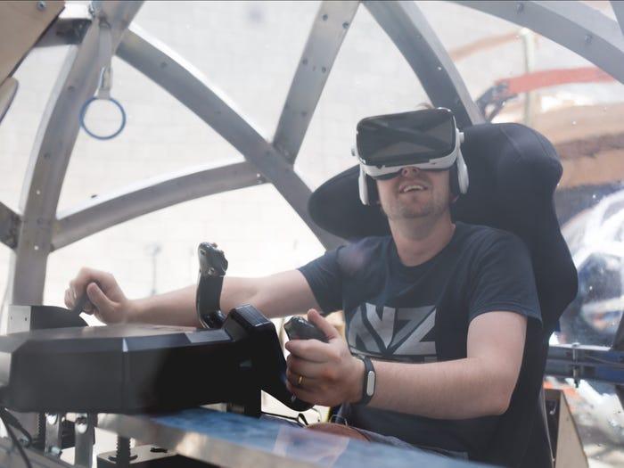 Nova 3 شبیهساز ۱۵۰ هزار دلاری «نوا» چگونه حس پرواز با جنگنده را منتقل میکند؟ اخبار IT