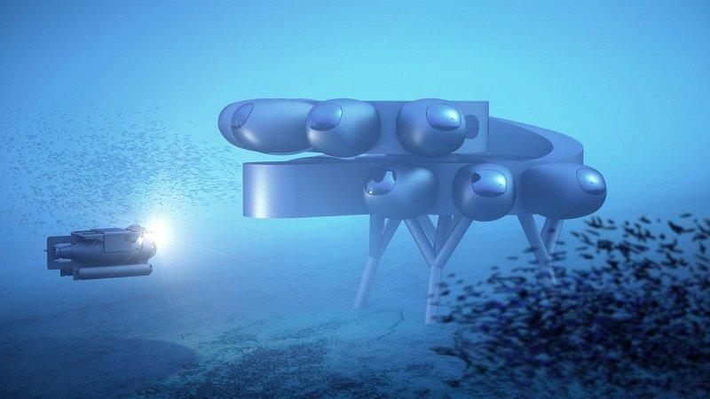 Proteus رونمایی از طرح اولیه بزرگترین آزمایشگاه زیردریایی دنیا با مساحت ۳۷۱ متر مربع اخبار IT