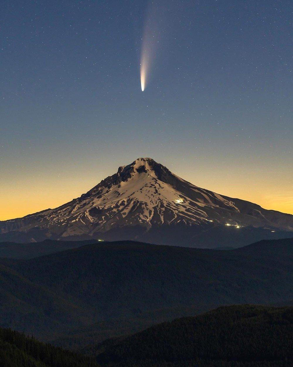 comet neowise 03 تصاویر خیره کننده از رصد دنبالهدار نئووایز اخبار IT