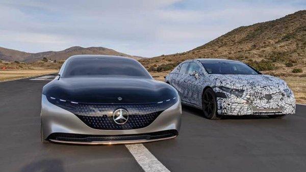 mercedes eqs concept 2 هشدار برای تسلا مدل S؛ پیمایش 700 کیلومتری مرسدس بنز EQS تایید شد اخبار IT