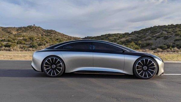 mercedes eqs concept 3 هشدار برای تسلا مدل S؛ پیمایش 700 کیلومتری مرسدس بنز EQS تایید شد اخبار IT