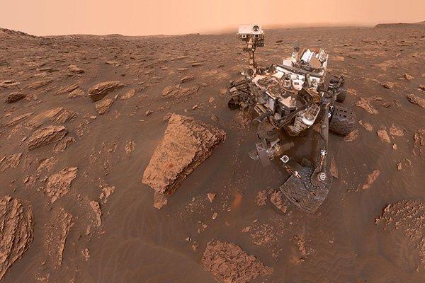 1 4 به مناسبت هشتمین سالگرد رسیدن کنجکاوی به مریخ؛ ۸ تصویر زیبا از سیاره سرخ اخبار IT