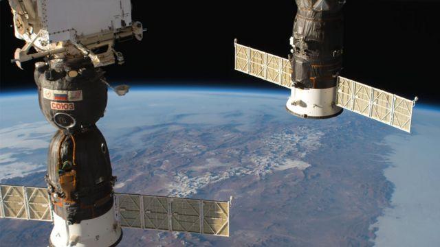 نشتی ایستگاه فضایی بین المللی