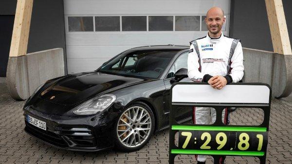 2021 Porsche Panamera 18 بازی تاج و تخت در جهنم سبز؛ مرسدس AMG میخواهد رکورد پورشه پانامرا را بشکند اخبار IT