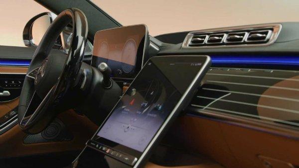 2021 mercedes s class interior 4 فراتر از تکنولوژی؛ تصاویر رسمی از کابین نسل جدید مرسدس بنز S کلاس اخبار IT