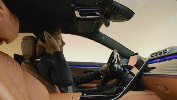 2021 mercedes s class interior 9 فراتر از تکنولوژی؛ تصاویر رسمی از کابین نسل جدید مرسدس بنز S کلاس اخبار IT