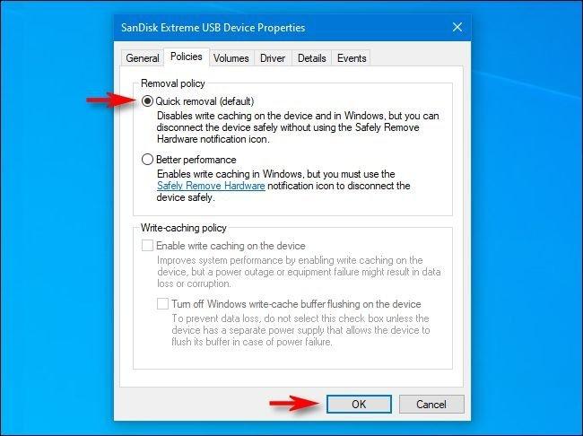 3 7 چگونه در ویندوز ۱۰ بدون استفاده از Safely Remove فلش را جدا کنیم؟ اخبار IT