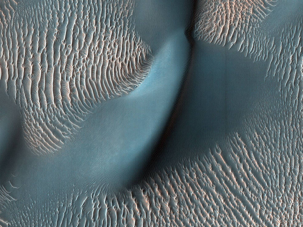 5 dunes and ripples pia24036 1041 ناسا گزیده ای از عکس های کاوشگر مریخ طی ۱۵ سال اخیر را منتشر کرد اخبار IT